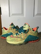 a2f57a3336d Lebron XII 12 Low PRM Lebronald Palmer Yellow Size 11 W original Box