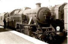 Black & White Photograph of former L.M.S.R. Fairburn 2-6-4T No 42072 in BR liv'y