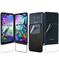 GOBUKEE [1 SET 5 PCS] LG G8X ThinQ 's Screen Protector [Work with the LG Dual...