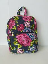 Women's cotton Backpack Quilted Flowers