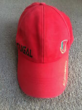 PORTUGAL KIPSTA 7 cap hat adult size red green embroidered