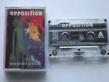 Opposition - War Begins At Home - Cassette, Made In Poland 1993