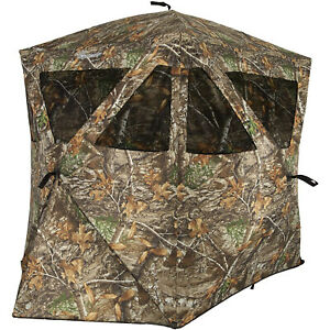 Ameristep Care Taker Kick Out Outdoor 2 Person Hunting Blind