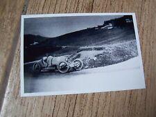 Photo  / Photograph BUGATTI 37  Croce  Targa Florio 1926  //