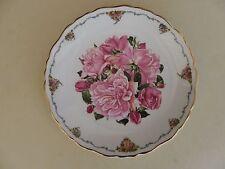 "Royal Albert Bone China Plate Queen Mothers Favourite Flowers ""Albertine Rose"""