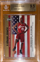 🔥💎2003 LeBron James UPPER DECK PHENOMENAL BEGINNING GOLD RC #20 BGS 9.5 PSA
