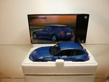 UT MODELS BMW M COUPE E36/8S - BLUE  METALLIC 1:18 RARE - EXCELLENT IN BOX