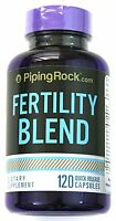 Fertility Complex Blend Women Men 120 Capsules Unisex Dietary Supplement