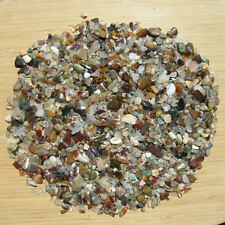 1LB Lot of Colorful Stone Crystal & Mineral Gem Chips Small Mixed Polished Rocks