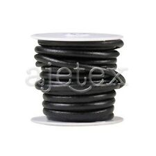 5M/Roll 4mm/5mm/6mm Real Leather Cord Thread Jewellery Beading Bracelet String