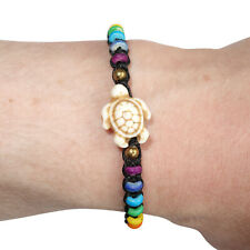 Turtle Bracelet Rainbow Wristband Bangle Mens Womens Ladies Boys Girls Jewellery
