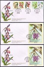 2002 Malaysia 17th World Orchid Conference 5v Stamp MS & Imperf MS on 3 FDC (KL)