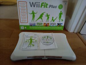 Nintendo Wii Fit Plus Game with Balance Board, Boxed