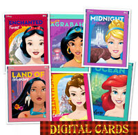 topps collect Disney Profile In Adventure Color Award + Full Set 6 Cards 2020