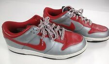 Nike Dunk Low Varsity Red Silver 318019-661 Shoes Men's Size 11 sneakers