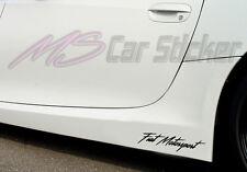 Fiat Deporte Motor Pegatinas de Coches Lámina SPORTS Mind Edición Limitada Decor