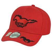 Horse  Country Rodeo Hat Cap Cowboy Animal Riding Horseback Ranch Red