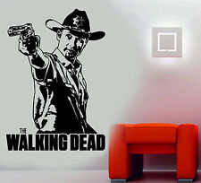 The Walking Dead/andrew Lincoln Rick Grimes Zombies Wall Art Sticker/decal 1