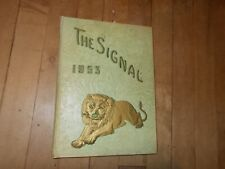 VTG 1953 The Signal Central High School Yearbook