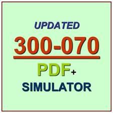 Cisco CCNP Collaboration IP Telephony & Video 1 CIPTV1 Test 300-070 Exam QA+SIM