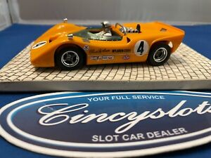 Monogram Revell Bruce McLaren #4 1/32 Slot Car. Used.