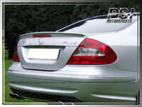 Custom Painted---CLK55 AMG Look Trunk Spoiler Lip For 03-09 CLK350 CLK500