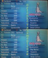 Pokémon ORAS / XY – COMPETITIVE GARDEVOIR 6IV's Shiny/No Shiny