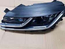 VW ARTEON PASSENGER LEFT LED HEAD LIGHT LAMP 3G8941081A