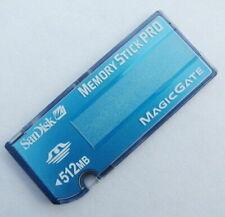 SanDisk 512MB Memory Stick PRO SDMSV-512 Memory Card