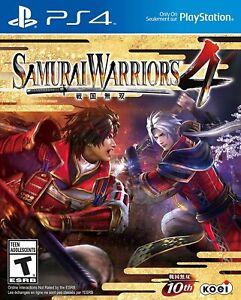 Samurai Warriors 4 - Sony Playstation 4 [PS4 KOEI TECMO Fighting Combat] NEW