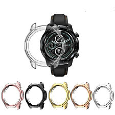 Tpu Plating Watch Case For TicWatch Pro 3 Gps Smart Watch Cover Frame Protector