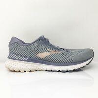 Brooks Womens Adrenaline GTS 20 1202961B073 Gray Running Shoes Lace Size 11 B