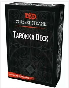 D&D Tarokka Deck •Curse of Strahd •Roleplaying Game Accessory NIB