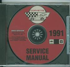 1992 1993  CORVETTE SHOP MANUAL  ON CD