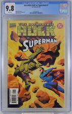 Incredible Hulk Vs Superman #1 CGC 9.8 1999