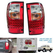 Fits 1998-2004 Toyota Hilux Tiger Mk4 Mk5 Led Tail Light Rear Lamp Red Len