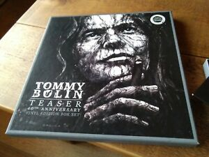 TOMMY BOLIN VINYL EDITION BOX SET, 40th Anniversary, 3xLPs, Booklet, CD 2only Ex
