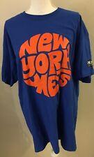 New York METS T~Shirt Size XL