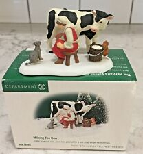Department 56 * Milking The Cow * New England Village Series #56.56683