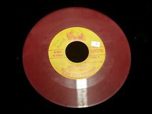 VINTAGE PETER PAN RECORDS RED RECORD PUFF 'N TOOT 45RPM 45-2242-B JACK ARTHUR