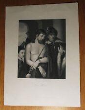 Ecce Homo Lithograph / Print by Francesco Veccellio