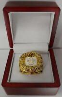 Michael Jordan - 1982 North Carolina Championship Ring WITH Wooden Display Box