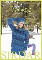 Sirdar Escape Chunky Book 360  19 designs