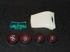 Hot Wheels Redline CLASSIC CORD REPRO White TOP, GLASS, & WHEELS -CIPSA KIT!