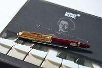 Montblanc Mozart solitaire Doue Vermeil Burdeos ref 1142 fountain pen