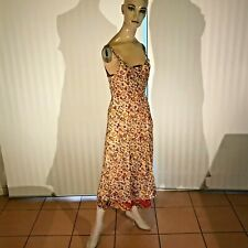 Little Birdy Studios- Handmade 100% Silk Summer Slip / Evening Casual Dress Sml!