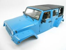 New Bright Jeep Wrangler Unlimited Hard Body Steel Roll Cage 1:10 Scale Crawler