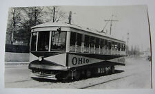 "USA534 - GRAND RAPIDS RAILROAD Co RAILWAY - TROLLEY ""OHIO"" PHOTO Michigan USA"