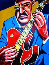 JOE DIORIO PRINT poster jazz solo guitar exercises gibson ES-175 fusion cd
