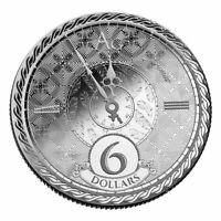 2020 - Tokelau Chronos 1 oz .999 Fine Silver BU Sixth annual series release